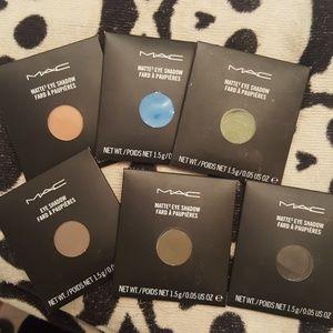 MAC Matte Eyeshadow Palette Refill